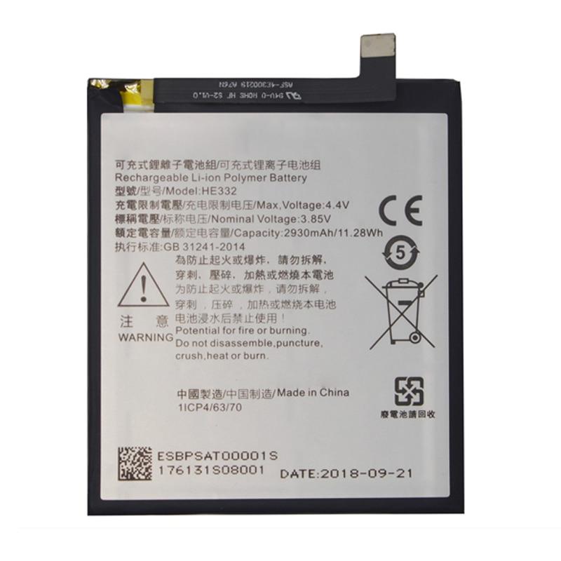 En Stock, batería de 2930mAh para SHARP S2 Fs8010 AQUOS s2 HE332, reemplazo de reparación de baterías + número de seguimiento
