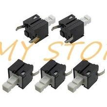 Tact-interrupteurs à bouton-poussoir Tactile   2 broches momentanées, 8x8x14mm, 10 pièces