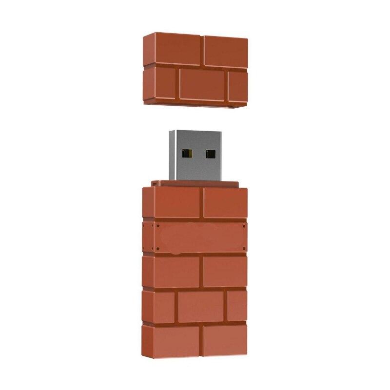 8Bitdo USB Wireless Bluetooth Adapter for Windows, Mac, Raspberry Pi & Nintendo Switch Support PS3 Xbox one Controller