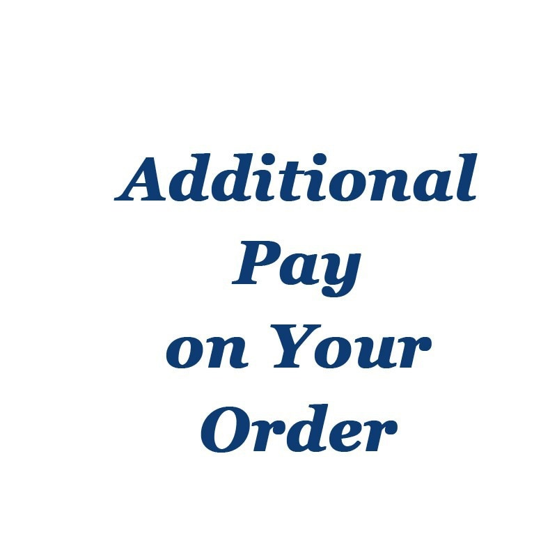 Freight compensation Additional Pay on Your Order