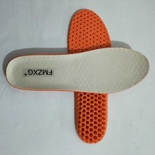FMZXG TNM 101-121 Winter Warm Thicken Fleece Insoles Shoes Insoles for Women Men shock absorption blue/black color