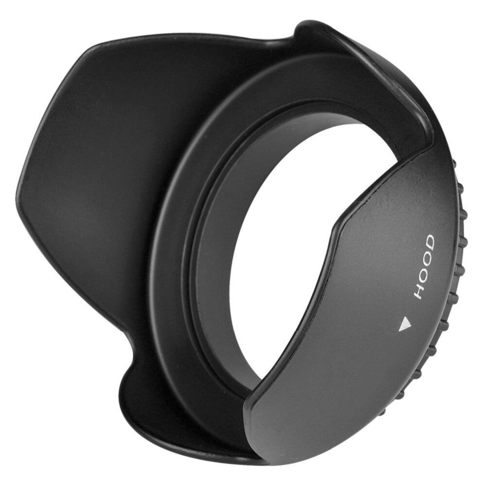 Tulip Flower Lens Hood for Sony DSC-HX400V DSC-HX350 DSC-HX300 DSC-H400 HX400V HX350 HX300 H400 Camera