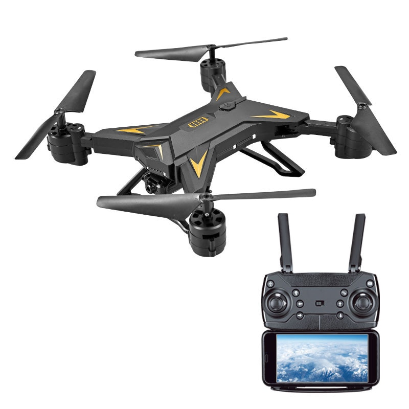 Foldable Quadcopter RC Drone with Camera HD 1080P WIFI FPV RC Helicopter Drone Professional 20 Minutes Battery Life gift enlarge