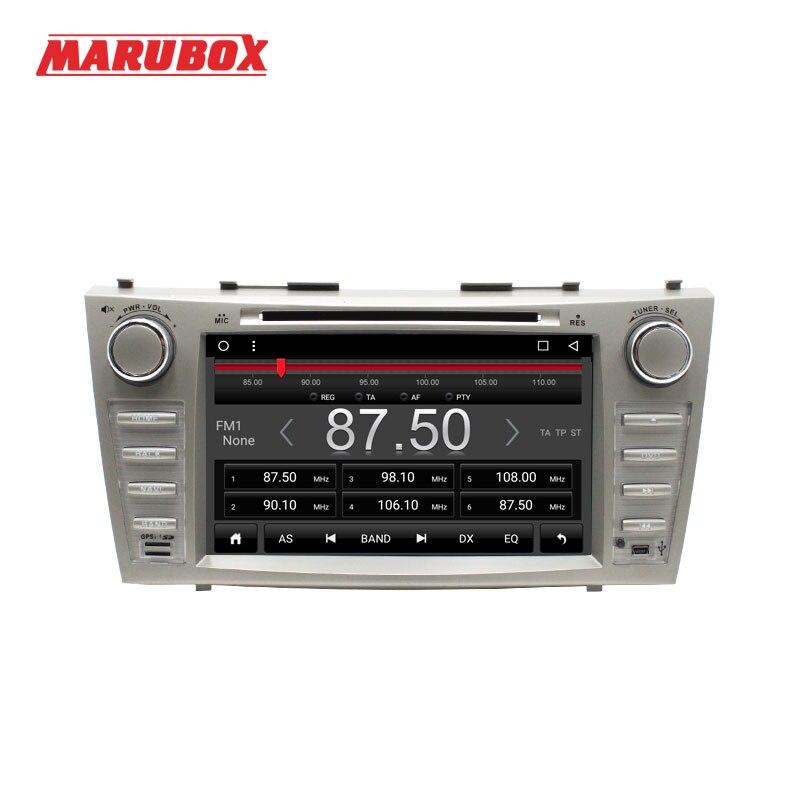 MARUBOX 2DIN Quad Core 8 pulgadas Android 7,1 para Toyota Camry 2006-2011 GPS Bluetooth radio estéreo de coche reproductor Multimedia 8A101T3