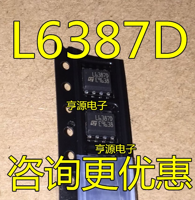 L6387D L6387DTR L6387ED nuevo original de aseguramiento de la calidad