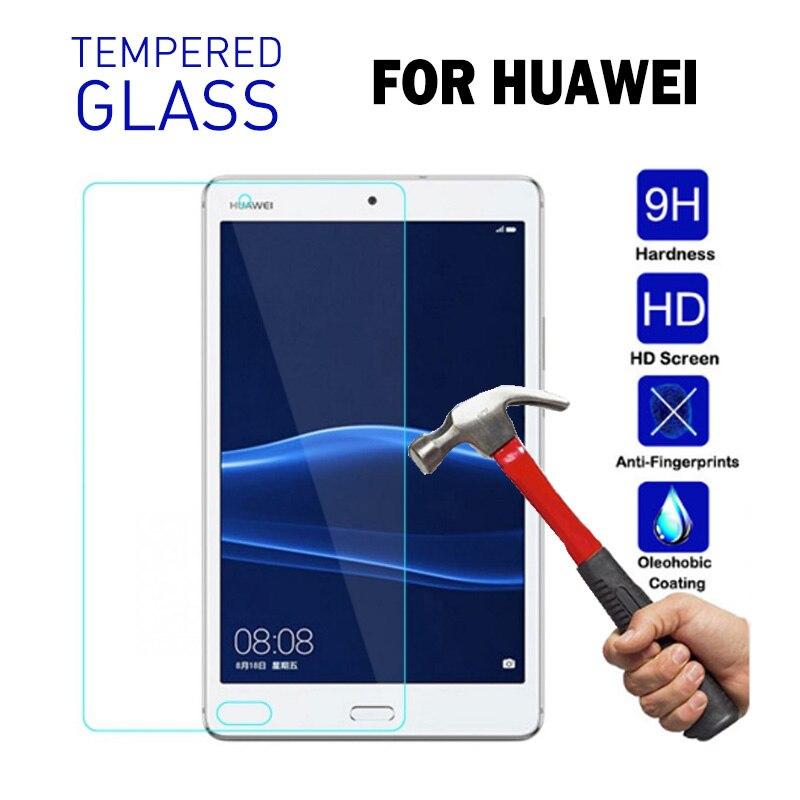 Для Huawei MediaPad T5 10 Закаленное стекло протектор экрана планшета для Huawei Mediapad M5 Lite 10 10,8 C5 8,0 M3 M2 10,0 8,4 пленка