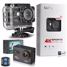 VeFly caméra vidéo sport et Action caméra daction 4k caméra dvr wifi télécommande hdmi sport caméra action 4k ultra hd