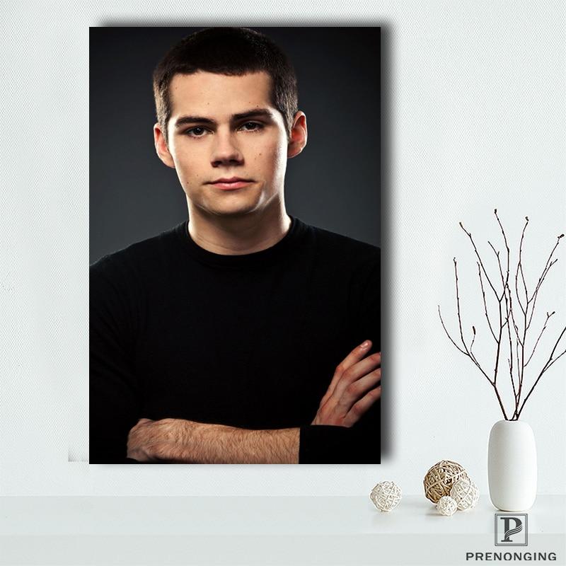 Póster de lona personalizado Dylan Obrien (1), carteles de impresión de tela, imágenes artísticas de pared para decoración para sala de estar #18-12-05-S-01-30