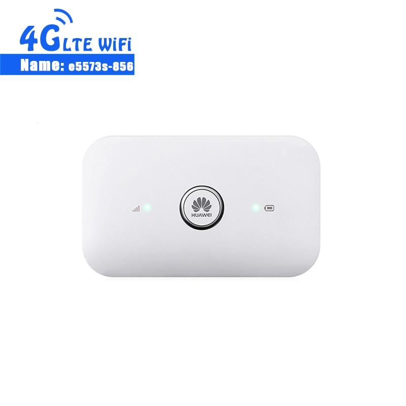 Desbloqueado HUAWEI E5573s-856 e5573 Dongle Wifi Router 4G Router WiFi LTE Cat4 150Mbps