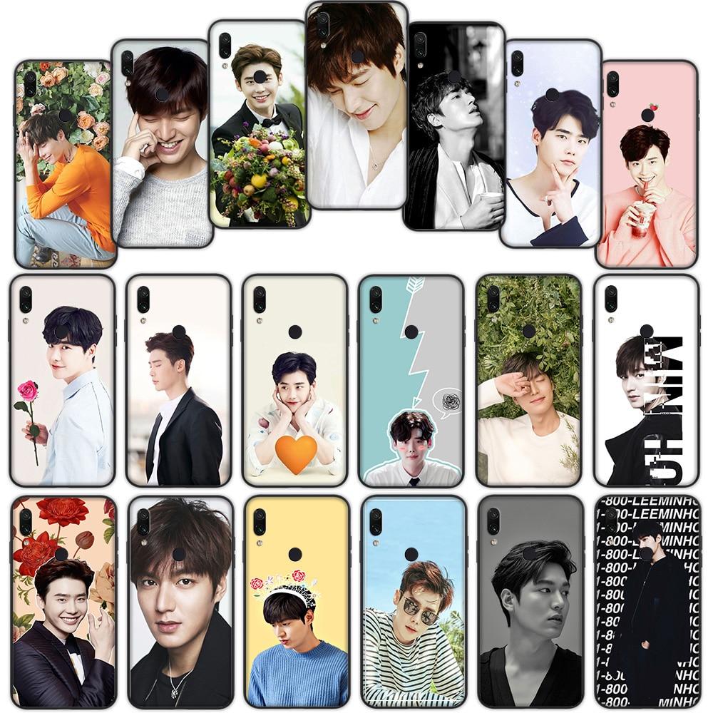 Lee Jong Suk Min Ho Soft Cover Case for Xiaomi Redmi Note 7 4 4X 6 Pro 5 Plus 5A 6A Go S2