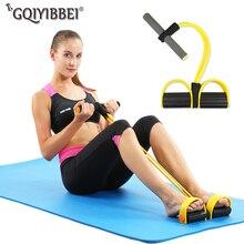 Elastyczne liny do ciągnięcia brzucha Exerciser Rower odporność na brzuch zespół domowa siłownia Sport szkolenia opaski elastyczne na sprzęt do ćwiczeń