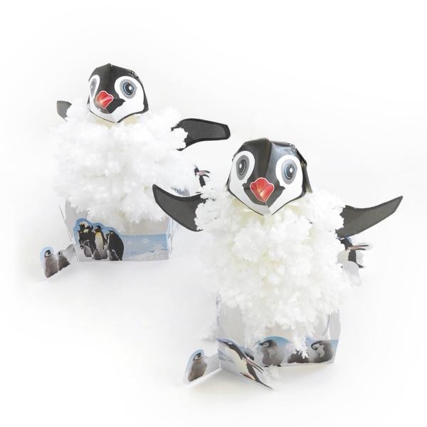 2019 16x13 см белая Волшебная бумага для рукоделия, растущие пингвиновые елки, волшебное дерево, Детские японские рождественские игрушки для де...