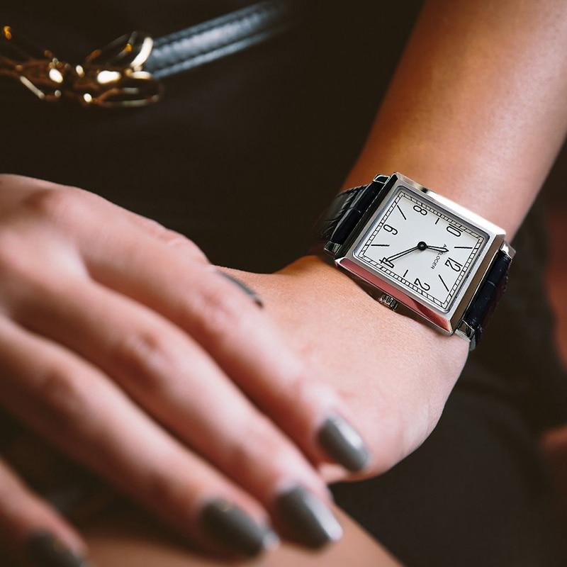 Switzerland AGELOCER Watches Women Luxury Luminous Waterproof Quartz Watch Ladies Design Clock Genuine Leather Strap Wrist Watch enlarge
