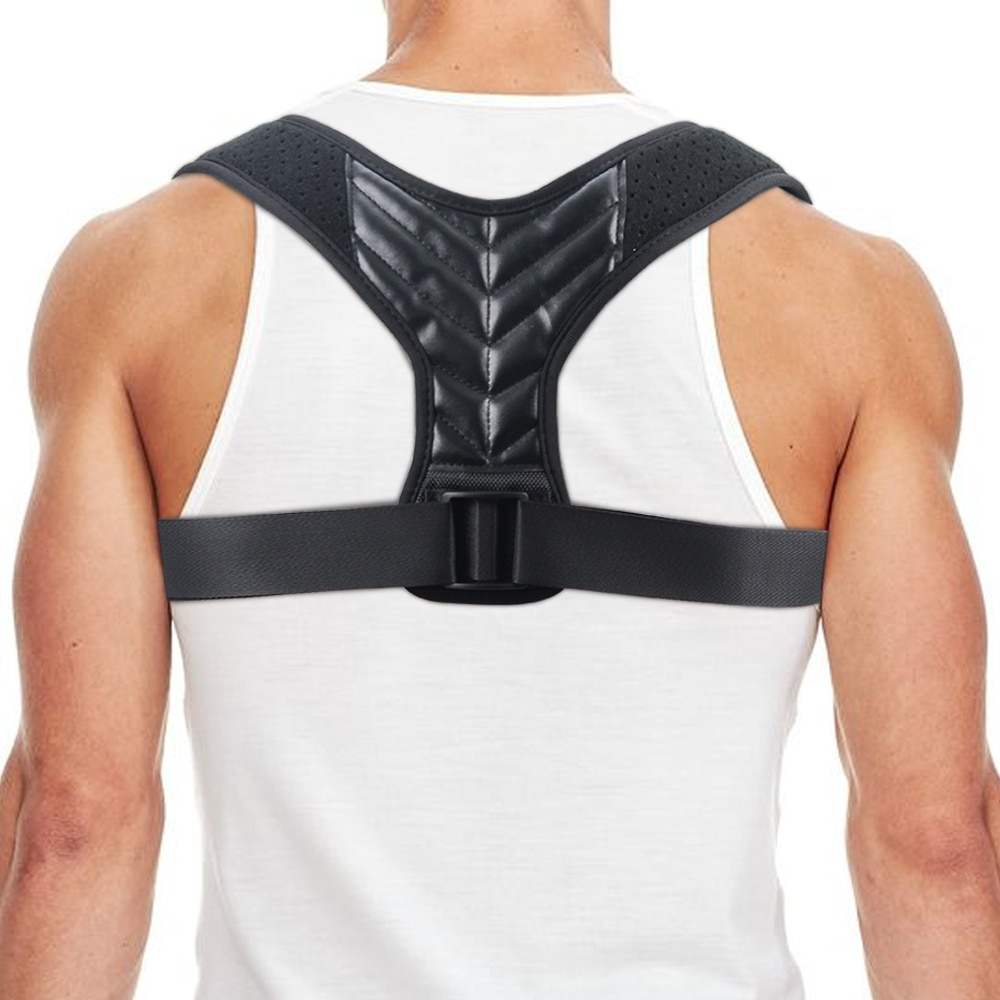 Nuevo médico clavícula espalda soporte hombro postura Corrector hombre corsé correa de espalda