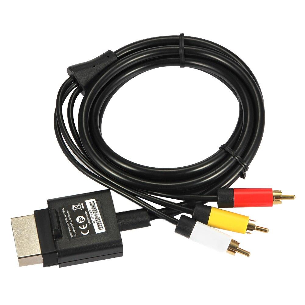 Cable compuesto de Audio y vídeo RCA AV, 1,8 m, 6 pies,...