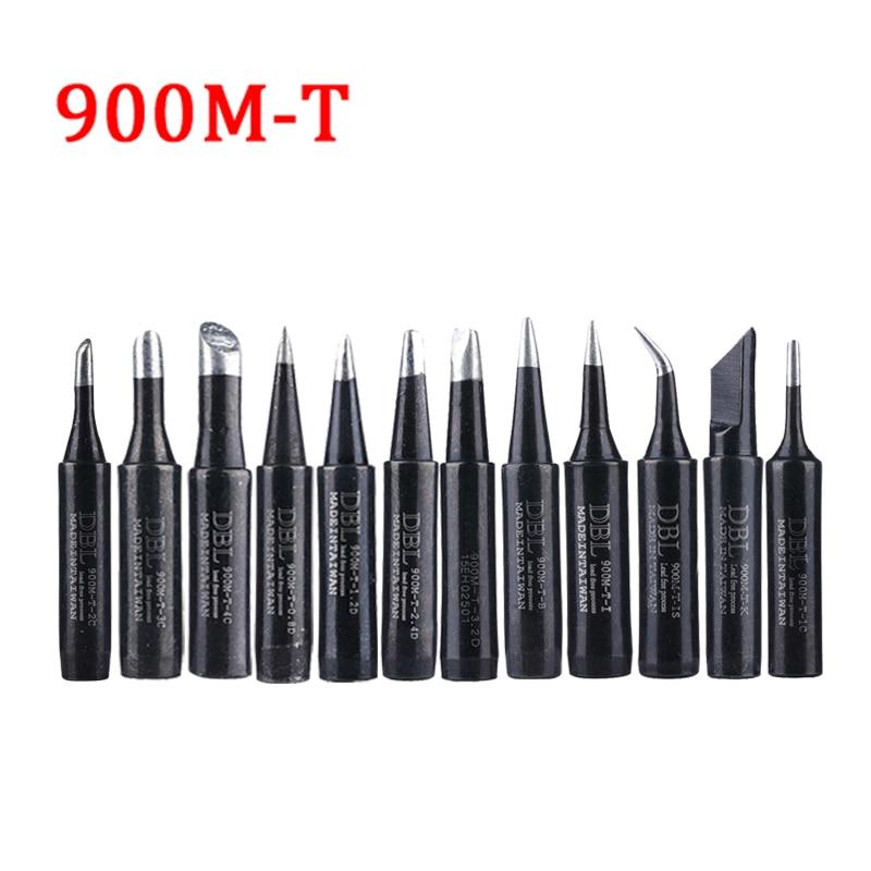 Набор наконечников для паяльника 900, комплект бессвинцовых насадок 900M-T-K, 900M-T-I, 900M-T-IS