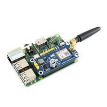 Chapeau Waveshare GSM/GPRS/Bluetooth pour Raspberry Pi 2B/3B/3B +/zéro/zéro W SIM800C prend en charge les SMS/DTMF/HTTP/FTP/MMS/email, etc.