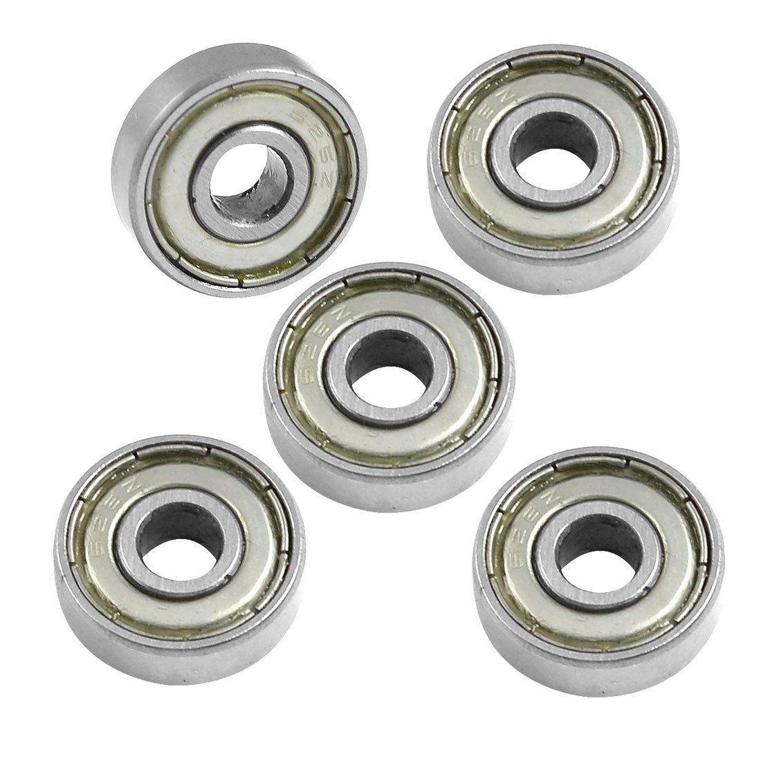 Bofo 626z 6mm x 19mm x 6mm blindado radial em miniatura rolamento de esferas profundo do sulco 5 pces