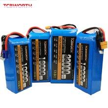 RC Toys LiPo Battery 4S 14.8V 10000mAh 12000mAh 16000mAh 22000mAh 25C 35C For RC Airplane Quadrotor Aircraft Drone Car Boat