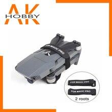 Cinta de fixação do estabilizador 2 pcs/par para dji mavic 2 pro motor/hélices clipe cinto titular transportes proteção