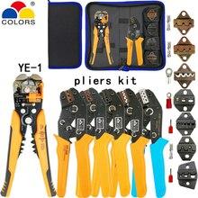 Kit outils de sertissage SN-2549 pince à SN-48B kit de mâchoires pince à dénuder pince coupante pour bornes de prise/tube/isolation