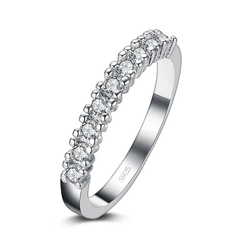 Скидка, супер блестящие женские серебряные обручальные кольца с фианитом
