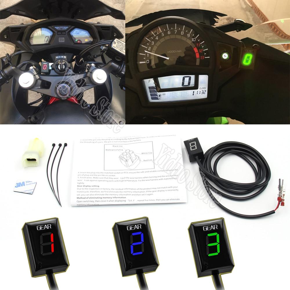 Для Honda CBR600 F4I CBR 600 F4I 2001-2006 2002 2003 2004 мотоцикл 1-6 уровень ЭБУ разъем крепление скорость шестерни дисплей индикатор