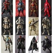 Star Wars samouraï Taisho Boba dark Maul vador Ashigaru Taikoyaku Akazonae Teppo Ahigaru Yumiashigaru Koutetsu figurine jouet