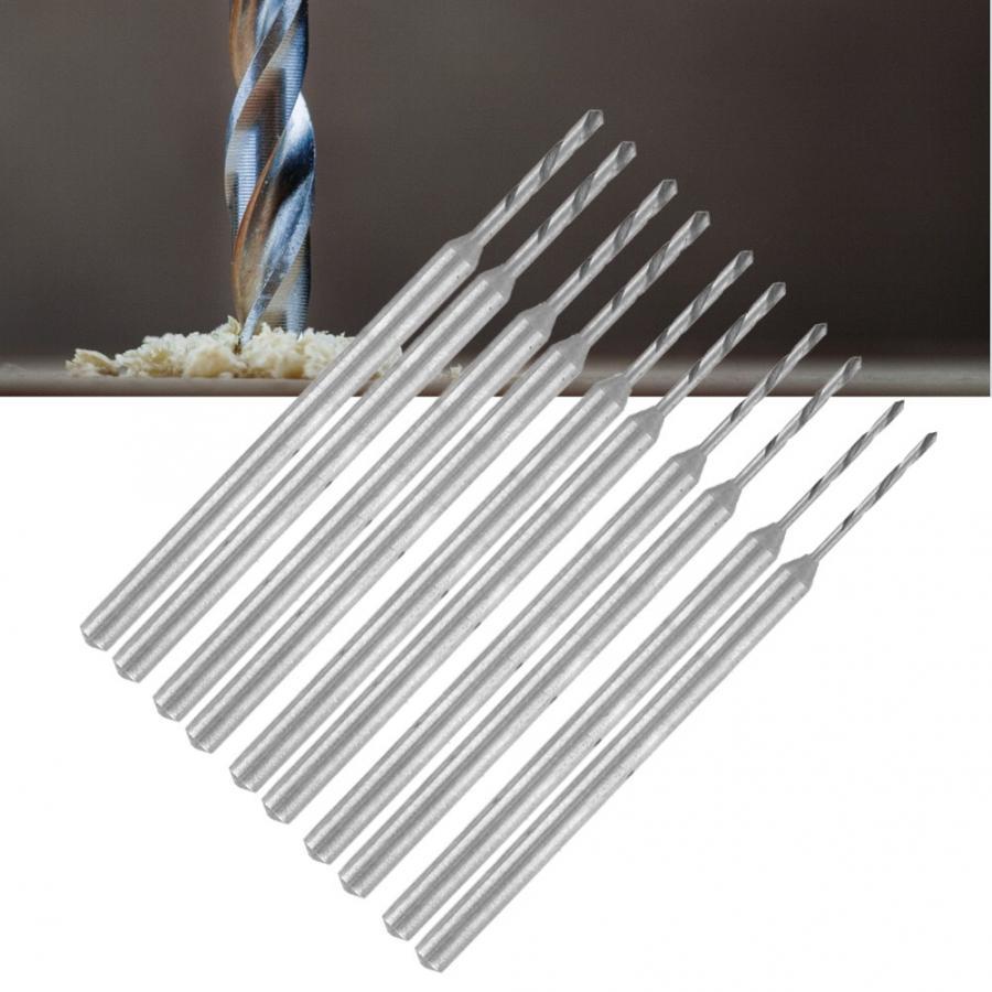 Juego profesional de 2 uds. Recto de vástago de velocidad rápida de acero, Kit de puntas de taladro en espiral para máquina de corte, herramientas de perforación de joyas para joyero