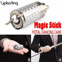 110CM Metal baile vara mágica trucos accesorios Pops truco ilusión etapa calle flotante magia Wand Drop Shipping