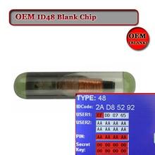 Grote korting (10 stks/partij) OEM ID48 chip auto glas Chip Tango Pro Copy key transponder Chip ID48 Auto sleutel Chip