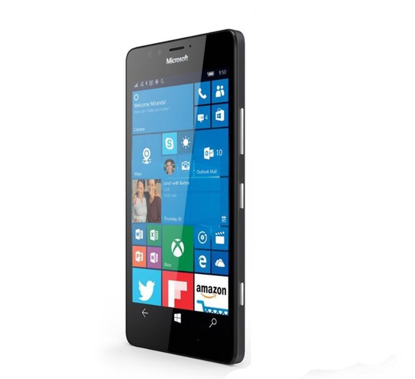 Nokia Microsoft Lumia 950 XL Оригинальный разблокированный Windows 10 мобильный телефон 4G LTE GSM 5,7 20 МП Восьмиядерный 3 Гб RAM 32 Гб ROM