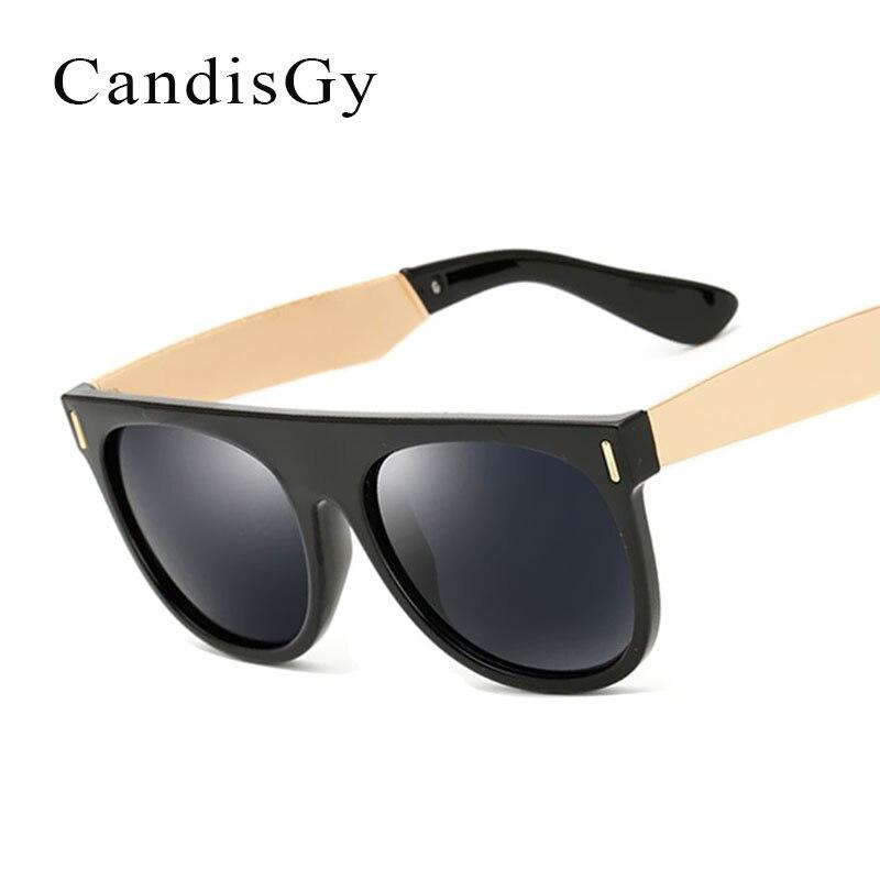 Gafas de sol espejo mujer 2017 nueva marca diseñador con marco grande gafas de sol moda tonos de mujer UV400