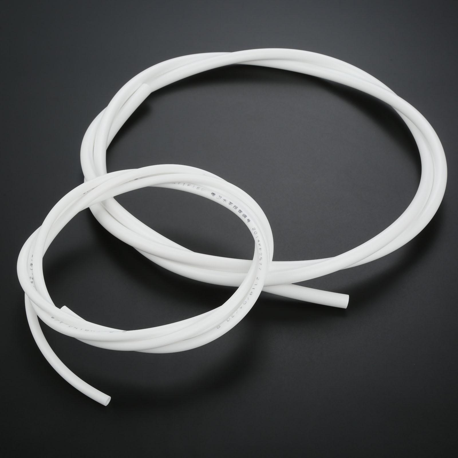 "2 Meter RO Water 1/4"" 3/8 Inch OD PE Hose Tubing White Flexible Pipe Tube For Reverse Osmosis Aquarium Filter System 2M/6.56ft"
