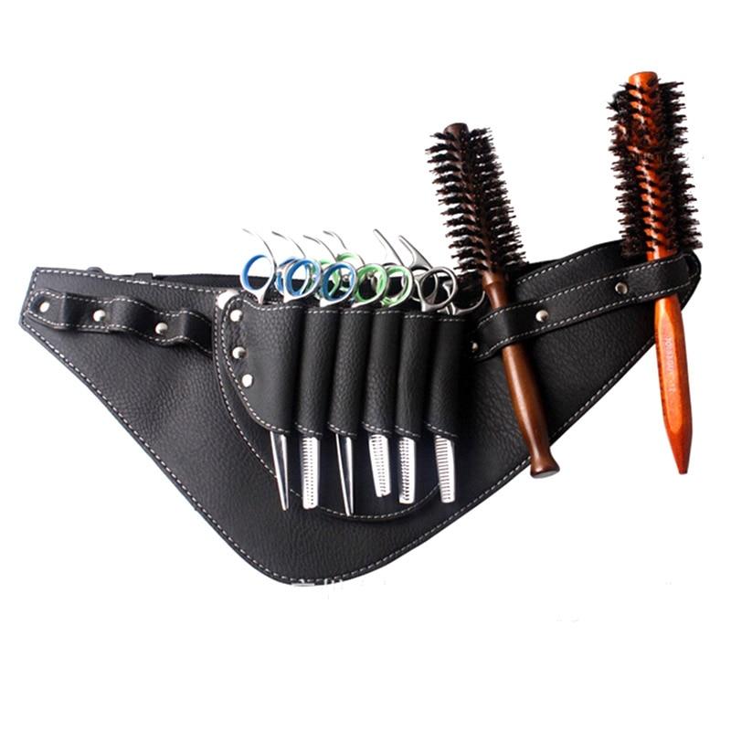 Tijeras de peluquería, bolsa, Clips, tijeras, bolsas de cizalla, funda cartuchera, cinturón @ ME88