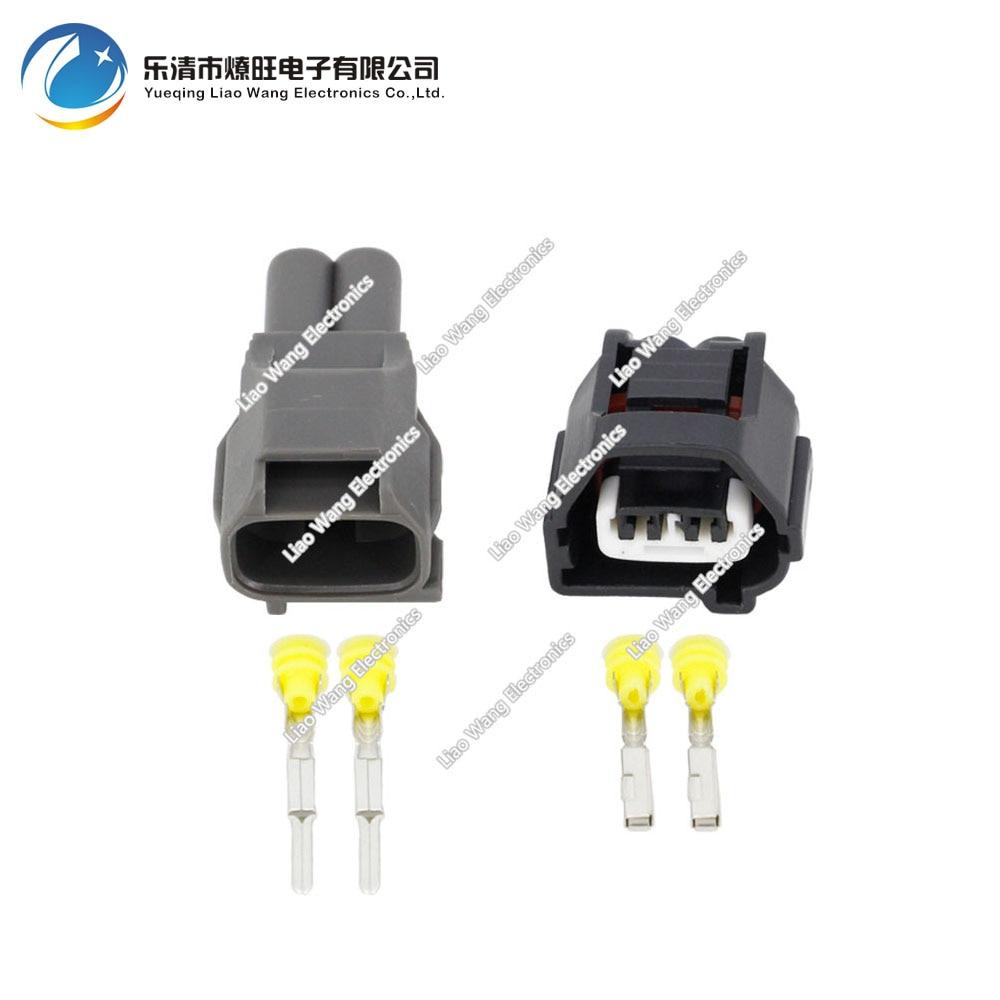 Sensor de manivela hembra y macho de 2 pines conector impermeable para Lexus Toyota con Terminal DJ70229Q-2.2-11/21