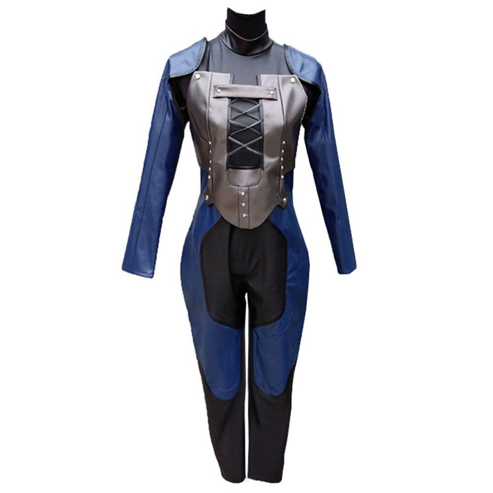 Disfraz de Cosplay de Persona 5, Reina Makoto Niijima, ropa de batalla para Halloween, 2017