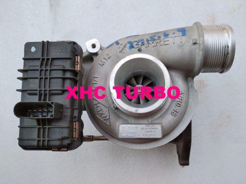 Se genuino GARRETT GTC1446VZ 848184-0001 Turbo 834227 turbocompresor para SAIC MAXUS G10 19D4N 1,9 T 110KW Euro V diesel