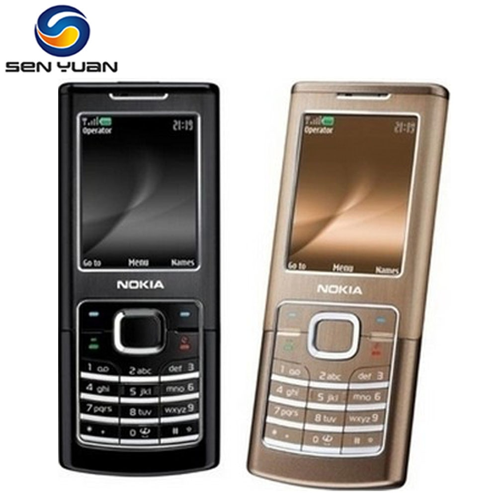 Original Nokia 6500 Classic desbloqueado 6500c teléfono móvil 3G Quad-Band ruso teclado soporte teléfono