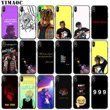 YIMAOC Suyu DÜNYA 999 Yumuşak Silikon Telefon iphone için kılıf 11 Pro XS Max XR X 6 6S 7 8 Artı 5 5S SE 10 TPU Siyah Kapak