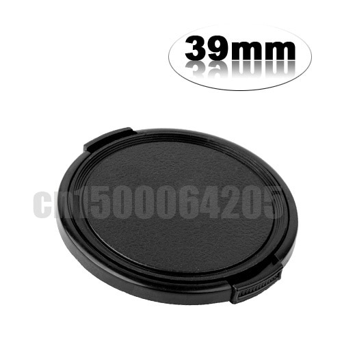 2 piezas 39 39mm tapa de la lente reemplazar E39/FLCP-39 para Fujifilm Fuji Fujinon XF 27mm F2.8 XF 60mm F2.4 R Macro