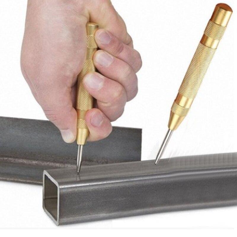 1 шт. 5-дюймовый центр HSS перфоратор статорная штамповка автоматический центральный штыревой перфоратор пружинный маркировочный инструмент сверлильный инструмент для деревообработки