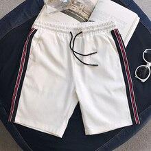 NEW 2020 Summer shorts men's beachCasual patchwork port wind loose hip hop students teenagers elastic shorts men Plus Size 5XL