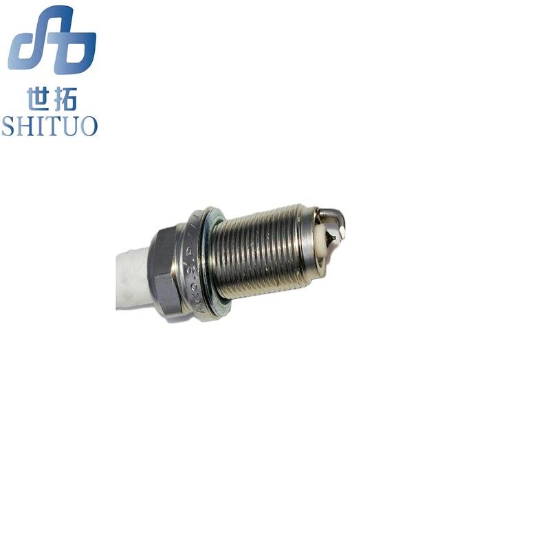 4 unids/set iraurita spark plug para Audi A4B8 3.2L A6C6/2,4/2,8/3,0/4.2L Bora Classic1.8L Chery E5 1,5/1.8L iridio bujía