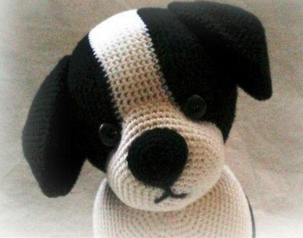 crochet toys  amigurumi dog  model number KO0012