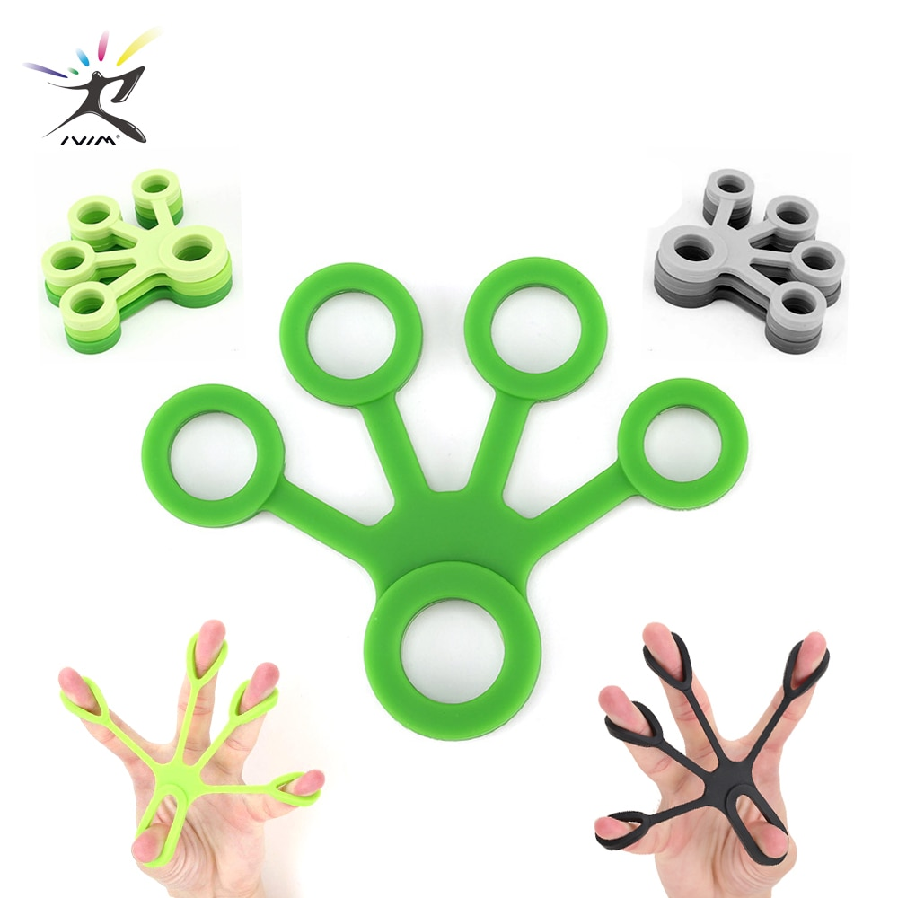 3 pcs silicon hand finger gripper trainer strength stretcher resistance exercise bands grip wrist yoga forearm rock climbing 1Pcs Silicone Hand Expander Finger Hand Grip Finger Training Stretcher Trainer Strength Resistance Bands Wrist Exercise Fitness