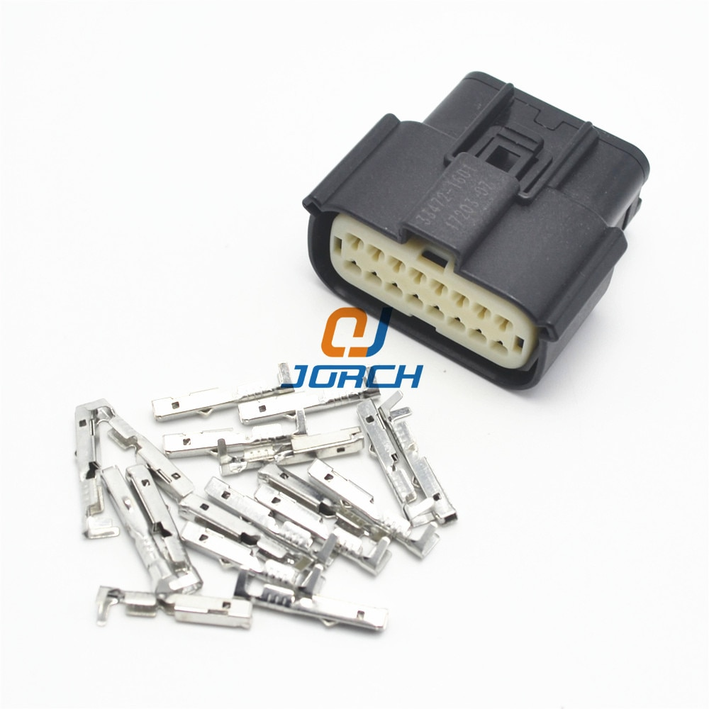 Câble de câblage automatique, connecteur molex 33472-1606, fiche électrique 33472-1740 16 broches