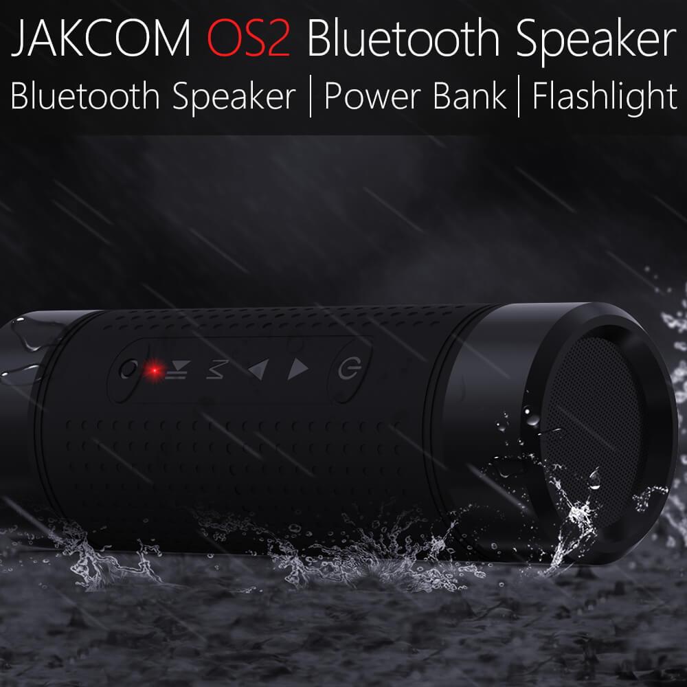 Jakcom OS2 في الهواء الطلق سمّاعات بلوتوث 5200mAh بطارية خارجية حزمة مضخم صوت محمول باس المتكلم مصباح ليد ستيريو سماعات صغيرة