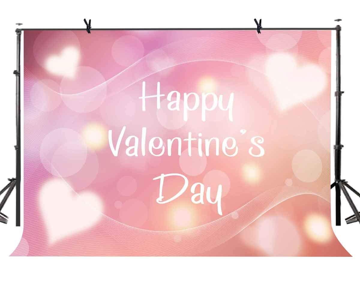 150x220cm Valentine's Day Backdrop Warm Romantic Valentine's Day Photography Background and Valentine's Party Backdrop Props
