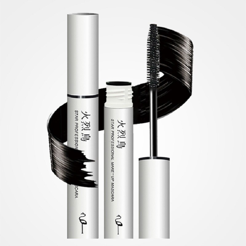 FLAMINGO Brand  2pcs 20Years Bestselling Classic Mascara curling thick Carbon Black waterproof mudge-proof Lengthening Mascara